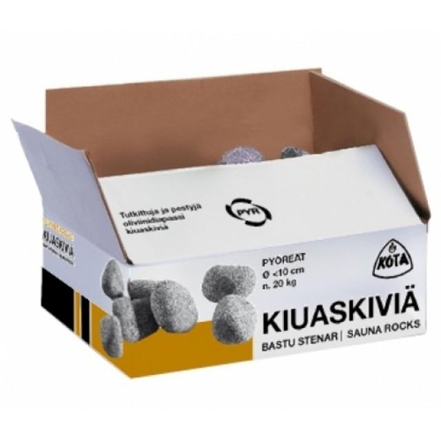 Olivinas diabazas ø10 cm, 15 kg, gludintas