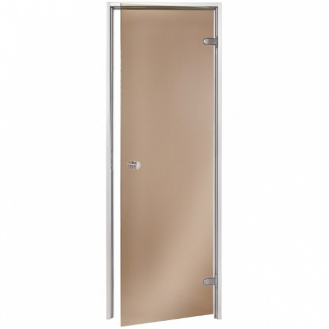 Durys garinei AU 7x20, rudas (bronzinis) stiklas